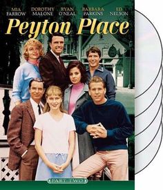 Peyton Place TV Show. Mom watched this after I went to bed, but I peeked! I thought Ryan O'Neil was so cute!