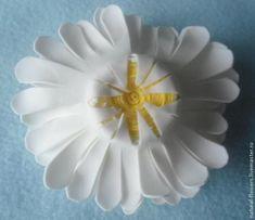 Ромашки от Иришки: делаем цветы из фоамирана - Ярмарка Мастеров - ручная работа, handmade