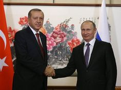 Russian President Vladimir Putin is hosting Turkish counterpart Recep Tayyip Erdogan for talks focusing on the situation in Syria.Putin opened Monday's meeting at Russia's Black Sea resort of Sochi by saying that relations Moscow and Ankara have been. Russian Jet, Taking Shape, Latest World News, Bible Truth, New Thought, Vladimir Putin, Current Events, Presidents, Christian