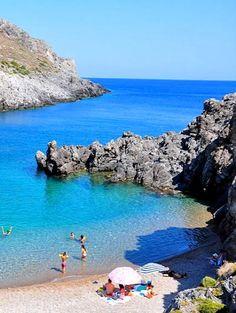 Halkos bay, Kythira Island, Greece