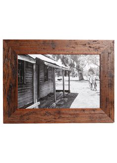 Homestead Mini Rustic Framed Photograph