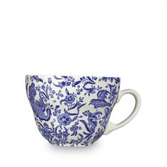 Blue Regal Peacock Breakfast Cup 425ml / 0.75pt