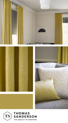 Create a dramatic atmosphere in your home with beautifully hand crafted curtains and blinds, expertly fitted to any window space. Interior Paint Colors, Paint Colors For Home, Ceiling Mount Curtain Rods, African Interior Design, Living Room Decor Inspiration, Colorful Curtains, Curtain Designs, Beautiful Living Rooms, Living Room Grey