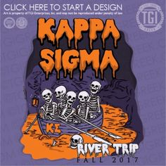 Kappa Sigma | K-Sig | ΚΣ | River Trip | Halloween | Date Function | TGI Greek | Greek Apparel | Custom Apparel | Fraternity Tee Shirts | Fraternity T-shirts | Custom T-Shirts