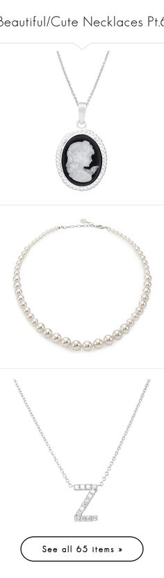 """""""Beautiful/Cute Necklaces Pt.6"""" by nerdbucket ❤ liked on Polyvore featuring jewelry, necklaces, accessories, pendant necklace, sterling silver jewellery, sterling silver pendant necklace, cameo pendant necklace, cameo necklace, colar and bijoux"""