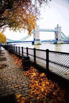 Londres no outono...