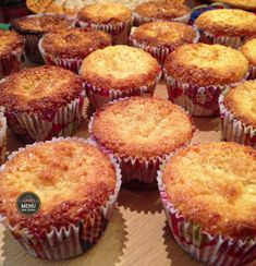 Cupcakes recipes blueberry sweets Ideas for 2019 Tart Recipes, Cupcake Recipes, Sweet Recipes, Baking Recipes, Cupcake Cakes, Mini Cupcakes, Portuguese Desserts, Portuguese Recipes, Coconut Tart