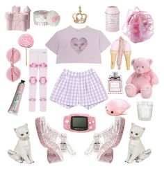Designer Clothes, Shoes & Bags for Women Cute Outfits For Kids, Cool Outfits, Fashion Outfits, Pastel Fashion, Kawaii Fashion, Space Outfit, Fairytale Fashion, Japanese Outfits, Cath Kidston