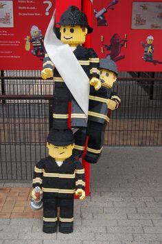 Fire department at Legoland