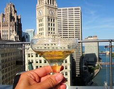 Chicago - Trump Terrace top 10 things to do in Chicago in Summer