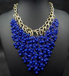 Beaded bib necklace wholesale