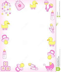 baby girl borders clipart clipart kid projects pinterest babies
