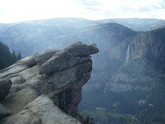 One of my favorite places in the world.  Glacier Point, Yosemite National Forest.