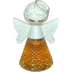 Christmas Past, Vintage Christmas, Sweet Memories, Childhood Memories, Makeup Package, Angels In Heaven, Vintage Bottles, Vintage Avon, 1970s