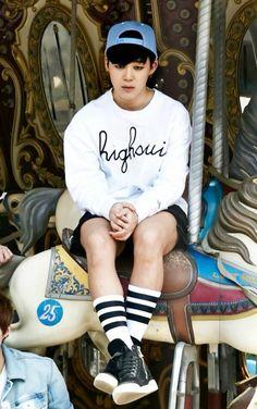 Jimin- BTS Boys In Wonderland for IZE Magazine