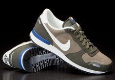 Nike Air Vortex Leather Steel Green