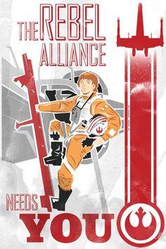 "geeksngamers:  Star Wars Propaganda — By Jake ""micronhero"" HollomonofPortland, OR, United States(via @GeeksNGamers) ""Don't insult us. You ..."