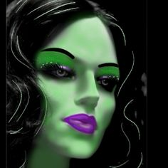 Really Scary Halloween Sites | 2012 Scary Witch Makeup For Halloween - Makeup Ideas For Halloween ...