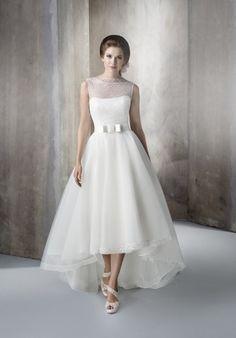 Larysa main Weeding Dress, Tea Length Wedding Dress, Wedding Dresses Plus Size, Most Beautiful Wedding Dresses, Perfect Wedding Dress, Dream Wedding Dresses, Confirmation Dresses, Elopement Dress, Affordable Prom Dresses