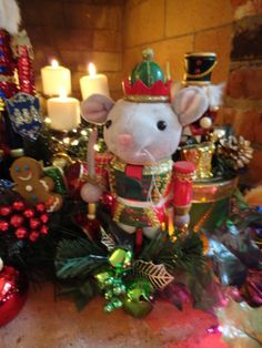 Party Planning - Party Ideas - Cute Food - Holiday Ideas -Tablescapes - Special Occasions And Events - Party Pinching - Christmas Kids Tablescape - Nutcracker