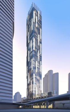 #TenYorkStreet by #Tridel are new #Toronto #condos under construction along the waterfront. This triangle shaped tower will offer lots of incredible facilities for residents. Click below to learn more...