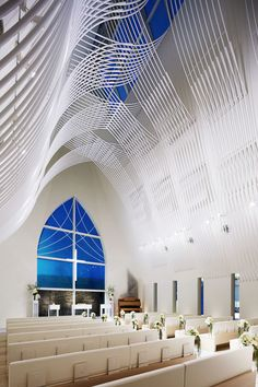 Slate-clad chapel   Eriko Kasahara