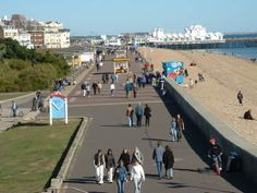 pompey seafront Portsmouth England, History Of England, English Heritage, Isle Of Wight, Seaside, My Photos, Past, Memories, Spaces