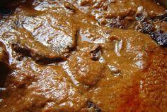 Slow cooking - sokáig sült marhaszelet jó szaftosan Slow Cooking, Pot Roast, Cooker, French Toast, Paleo, Beef, Breakfast, Ethnic Recipes, Dios