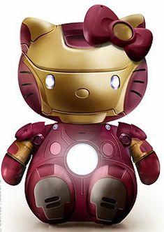 I found 'Iron Man Hello Kitty' on Wish, check it out!