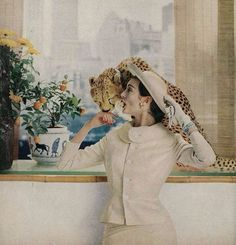 Фото из журнала Harper's Bazaar, 1958 год