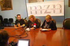 Presentación del I Congreso Storytelling Works realizada en el Ayuntamiento de Monzón