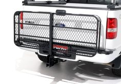 Jeep Accessory - DeeZee Hitch Mounted Folding Cargo Carrier