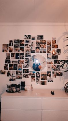Cute Bedroom Decor, Teen Room Decor, Room Ideas Bedroom, Bedroom Inspo, Bedroom Picture Walls, Bedroom Wall Pictures, Bedroom Wall Ideas For Teens, Playroom Ideas, Bedroom Designs