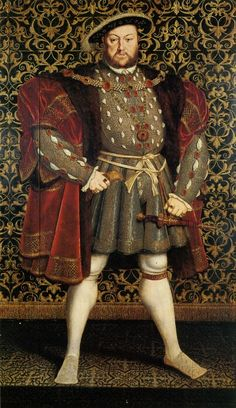 Henry VIII, Hans Holbein the Younger, 1537, Found in the Walker Art Gallery