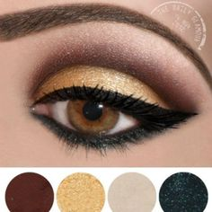 arabian inspriation eye perfect as cleopatra but not over done...x
