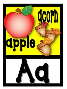 Classroom Alphabet - very nicely done - and FREE :-)