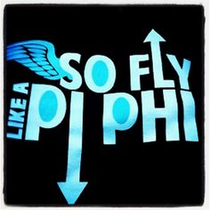 Pi Phi t-shirt - This could totally work for A Phi too
