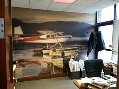 Custom wall mural ideas for your office space #officewallmurals #customwallart #wallmuralstoronto #torontosigns  For more ideas check out www.mediamarksmen.com