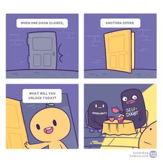 viaaccording to devin via viaviaviaviaviaviaviaviaviavia viaviaviaviaviaviaviaviaviaviaviajake likes onions Funny Pic Dump: Next Page–> Sarah's Scribbles, Therapy Humor, When One Door Closes, Comics Story, Dark Memes, Funny Games, Weird Facts, Funny Comics, Webtoon