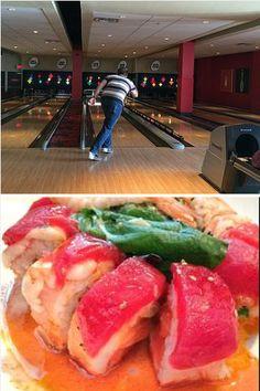 Bowling & gluten-free dining in Disney Springs. #glutenfree #celiac #glutenfreetravel #glutenfreerestaurants #glutenfreedining #glutenfreeliving #travel #diningout #DisneySprings #Orlando #Florida #restaurants #review #restaurantreview #coeceliac