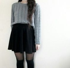 Knit sweater style