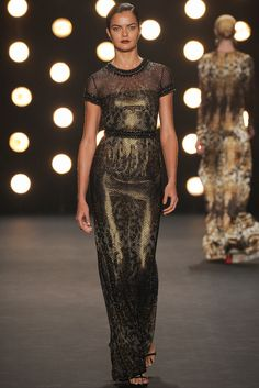 Naeem Khan. Au-winter 2014 2015