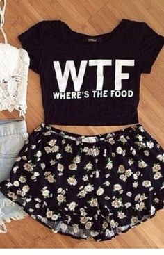 This clothes describe me perfectly ( minha cara essa blusa) Cute Lazy Outfits, Cute Casual Outfits, Teenage Outfits, Teen Fashion Outfits, Mode Outfits, Outfits For Teens, Summer Outfits, Girl Outfits, Pajama Outfits