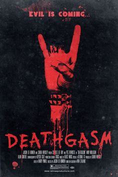 Deathgasm (2015) Horror Movie Review デビルズ メタル