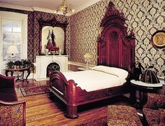 Lincoln's Bedroom at home in Springfield, Illinois
