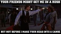 has two guns and Film Appreciation for Tombstone Tombstone Movie Quotes, Tombstone 1993, Tombstone Arizona, Kurt Russell Tombstone, Badass Quotes, Funny Quotes, Qoutes, Western Quotes, Cowboy Quotes