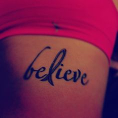cool tattoo with cancer ribbon @Amber Nixon