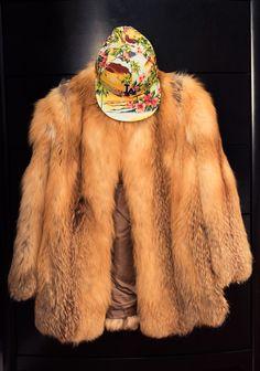 Danielle Prescod - The Coveteur, faux fur coat and tropical snapback I Love Fashion, Fashion Beauty, Winter Fashion, Womens Fashion, The Coveteur, The Blonde Salad, Leather Hats, Shearling Jacket, Stuart Weitzman