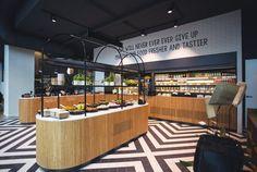 The Foodmaker Den Haag - Turfmarkt 91 Food To Go, Food N, Restaurant Marketing, Liquor Cabinet, Interior Design, Holland, Architecture, Eat, Furniture
