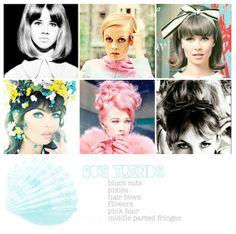 1960's Hair Inpiration